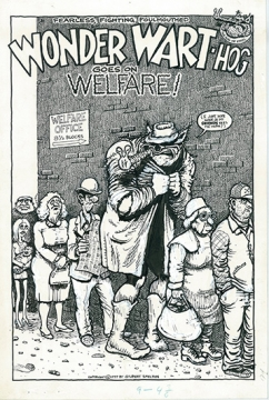 Wonder Wart Hog goes on Welfare